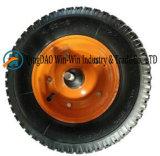 Roda de borracha pneumática resistente para o trole