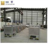 1000L acier empilable de conteneurs de stockage sur les produits chimiques