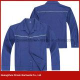 最もよい品質の綿ポリエステル安全作業摩耗(W134)