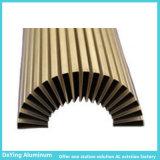 China fábrica de aluminio de extrusión de aluminio anodizado de perfiles de color