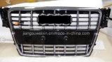 """Het zwarte Voor AutoTraliewerk van de Auto (Verchroomd Embleem) voor Audi S4 2008-2011 """""""