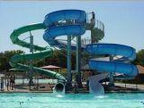 Tube Spiral Water Slide, Slide de água fechado para Water Park