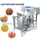 ガス暖房の完全なやかんの甘いカラメルのポップコーン機械
