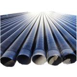 Anti corrosão do tubo de aço revestido a epóxi de PE de 3 Tubo de Aço