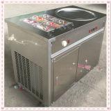 1+6 نوع باردة حوض طبيعيّ [إيس بن] مقليّ يقلى [إيس كرم] آلة, تايلاند حوض طبيعيّ مستديرة يقلى [إيس كرم] آلة