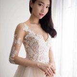 Платье венчания мантии сексуального Applique шнурка Bridal