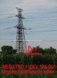 Megatro 110kv 1A6 DJ1 la tensión de la torre de transmisión
