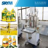 식용 식물성 또는 냉각 기름 채우는 캡핑 기계