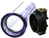 cubierta entera del claro del filtro de agua de la casa 10-Inch con 3/4-Inch Fnpt