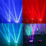 indicatore luminoso capo mobile della discoteca del ragno del fascio LED di 8X10W RGBW