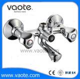 Двойная ручка ванной электродвигателя смешения воздушных потоков на Ближнем рычаг под струей горячей воды в ванной комнате (VT 61601)