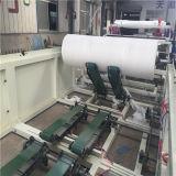 巻き戻す、打ち抜く及び浮彫りになる半自動トイレットペーパー機械