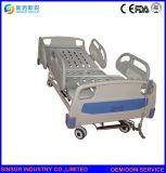 Bâti médical réglable électrique de l'ABS 3-Function de meubles approuvés d'hôpital d'ISO/Ce