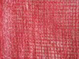 sacchetto della maglia della cipolla di 30*50cm/sacchetto della maglia per la cipolla/sacchetto di plastica arancione della maglia (fabbrica dello Shandong)