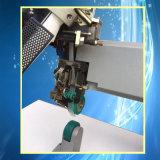 Correa utilizada PE / PVC de soldadura de aire caliente mercancías impermeables y zapatos de costura de sellado de la máquina