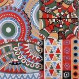 El norte de Europa el estilo de decoración de pared y piso de porcelana esmaltada azulejo mosaico de suelos de 300x300mm F023