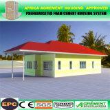 La casa moderna del envase del aislante de calor/la casa prefabricada/prefabricó/hogar modular