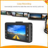 FHD1080p coche DVR cámara tablero con 3 pulgadas de pantalla Grabación en bucle G-Sensor