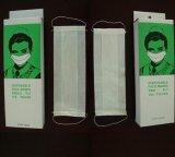 Una mascherina di carta delle 2 pieghe con il ciclo dell'orecchio (HYKY-01112)