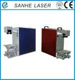 Máquina portable de la marca del laser de la fibra del diseño para el plástico/el metal