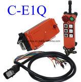 Output 6 van relais de Controle van Radio Remote van de LuchtKraan van het Systeem van Pll van het Kanaal met 1 Zender en 1 Ontvanger