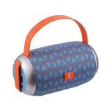 Haut-parleur portatif de carte d'amplificateur de haut-parleurs de Tg112 Bluetooth de tissu de course extérieure portative sans fil de cylindre