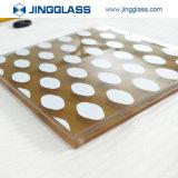 vetro laminato temperato colorato radura di sicurezza di 6-38m-12-38mm