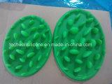 Os materiais macios do anti silicone da bacia do animal de estimação do bloqueador retardam a bacia do alimentador para o animal de estimação