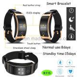 Slimme Armband Bluetooth met de Monitor van het Tarief en Van de Bloeddruk van het Hart K11s