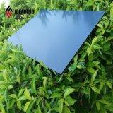 Revestimiento de PVDF plata oscuro diario 4mm de aluminio Panel de pared (AF-411)