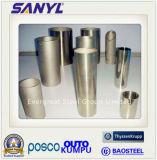 Feuille de tubes en acier inoxydable