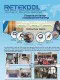 TM804 de digitale LCD Sensor van de Temperatuur van de Thermometer voor de Diepvriezer van de Ijskast