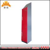安い価格の赤い金属2のドアのロッカー