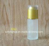 Frasco da loção do corpo de vidro de cuidado de pele