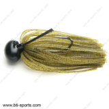 低音釣重量のタングステンの樹脂のフットボールは重量08c-065を急激に前後動かす
