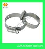 U. S tipo engranaje helicoidal de acero inoxidable 304 la abrazadera del tubo