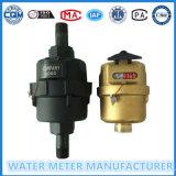 Medidor de agua mecánico, volumétrico Tipo Caudalímetro de agua