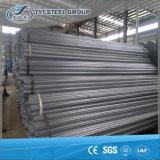 Tubo de acero con poco carbono de Gavalnized de la INMERSIÓN caliente BS1387/tubo para la casa verde