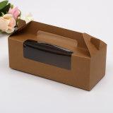 맛있은 디저트 음식 패킹 Kraft 포장 서류상 선물 상자
