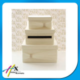 Tapa de Caja de Embalaje de Papel de Lujo, Caja del Favor de la Boda