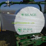 Película blanca del abrigo del ensilaje de la película de la agricultura del PE de la categoría alimenticia con el alto nivel del palillo