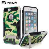 Het militaire Geval van de Telefoon van het Pantser van de Camouflage Ruwe voor iPhone 7/8 plus