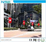 Schermo di visualizzazione del LED di pubblicità esterna del Palo di illuminazione stradale P6 con il disegno astuto del telefono