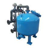 Multi Media el filtro de arena de agua reciclada