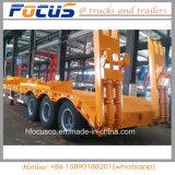 3 Aanhangwagen van het Bed van het Vervoer van de Apparatuur van assen de Zware Lage