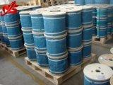 Голубые покрынные PP гальванизировали веревочку стального провода 7X7 4-6mm