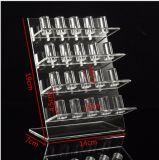 Grands 4 niveaux d'affichage bijoux en acrylique pour 20 anneaux PCS