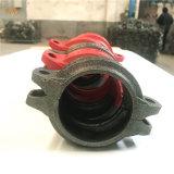 Accesorios de tubería ranurado de hierro dúctil, acoplamientos, brida