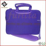 Популярные ручка и наплечный дизайн неопреновый чехол сумка для ноутбука (FRT1-136)