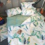 100% algodão exportador roupa de cama do hotel
